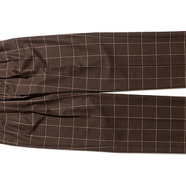 NEAT - Fox Brothers Check-Wide-Brown