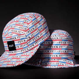 """HUF - 2013SS """"Fuck It"""" Collection"""