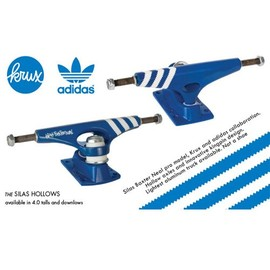 Krux - Krux Silas x Adidas Blue Hollow 4.0 Skateboard Trucks