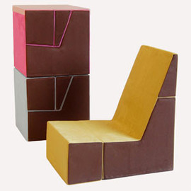 Tolleson + Saul - The Cubit Chair for Kids! ;)
