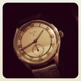 HERMES - 50's vintage sports watch