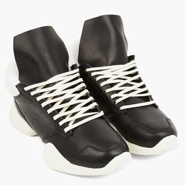 Rick Owens x adidas - Men's Runner in White and Black