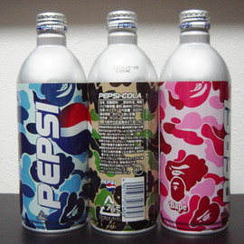 A BATHING APE - Pepsi can