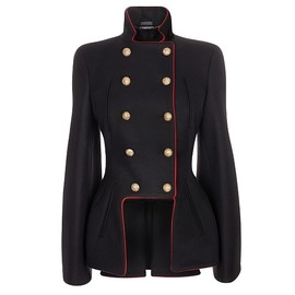 Alexander McQueen - WIDE SLEEVE DOUBLE BREASTED JACKET