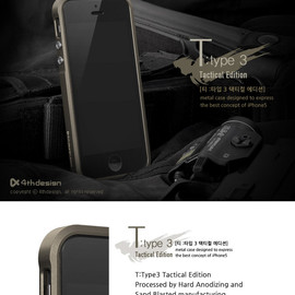 4th Design - T:type 3 Tactical Edition (for iPhone 4/4S)