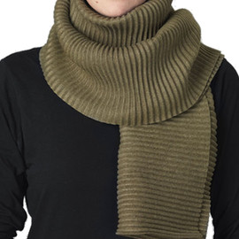 Marianne Abelsson - Fleece Scarf Long,Avocado
