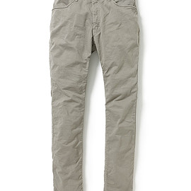 nonnative - DWELLER 4P JEANS TAPERED FIT C/P CHINO STRETCH OVERDYED