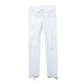 TAKAHIROMIYASHITA The SoloIst - rough out jean. -white.-