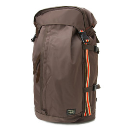 "HEAD PORTER - ""IVY"" RUCK SACK BROWN"