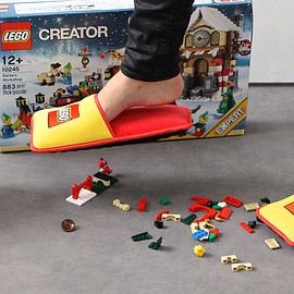 LEGO - anti-LEGO slippers