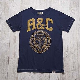 ANCHOR & CROWN - A&CカレッジTシャツ  A&C-PT-04 NY