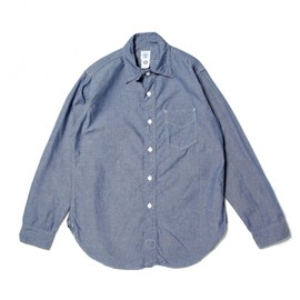 POST O'ALLS - chambray shirt (1211R The POST-R southern chambray)