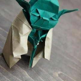 flossie - Origami Yoda by flossie