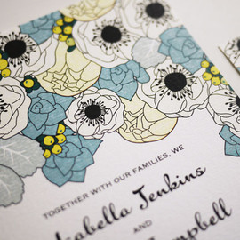 Luulla - Spring Wedding Invitation (PRINTABLE)