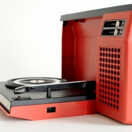 PHILIPS - PHILIPS 423 FOLDING RECORD PLAYER