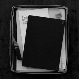 PH line from Hightide - Large Notebook, Black