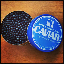 Russ and Daughters - Mints that look like caviar