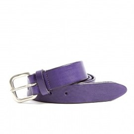 Anderson's - Purple leather belt