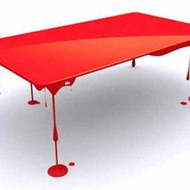John Nouanesing - Bloody Table By John Nouanesing