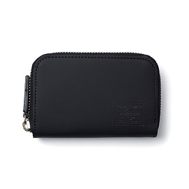 "HEAD PORTER - ""TRINIDAD"" COIN CASE BLACK"