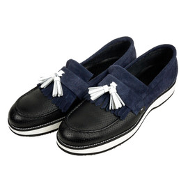 MofM(manofmoods) - MofM TASSELED LOAFER_NAVY