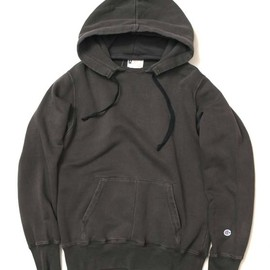 Champion - ROCHESTER PULLOVER HOODED SWEAT SHIRT - BLACK