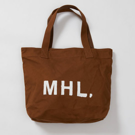 MHL. - HEAVY CANVAS TOTE