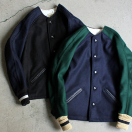 SKOOKUM - NO COLLAR SUR COAT -ナイモノねだり-