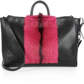 3.1 Phillip Lim - 3.1 Phillip Lim Ryder Medium Mixed-Media Hold All Tote