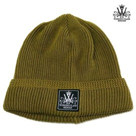 WORKING CLASS HEROES - COTTON KNIT WATCH CAP (OLIVE)
