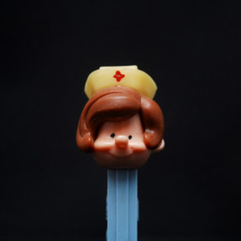 PEZ - Nurse with brown hair