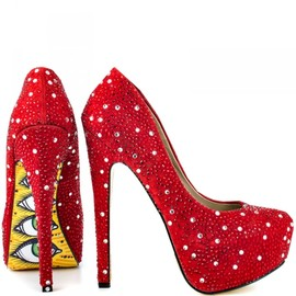 """DEVIL LADY""Pumps/red"