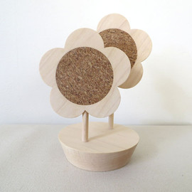 kamakura terrace - flower coaster|with stand