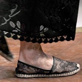 Valentino - 2012SS Lace Espadrille