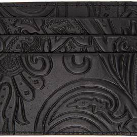 Etro - Black Paisley Card Holder