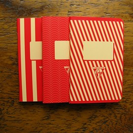 Clairefontaine - 1951 Staplebound Notebook (3.5 x 5.5) Red - Lined