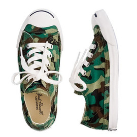 CONVERSE - Converse x Jack Purcell x Crew Cuts Camo Sneakers