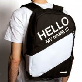 SPRAYGROUND - Laptop Backpacks - Hello My Name Is