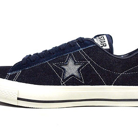 "CONVERSE - ONE STAR J DENIM ""made in JAPAN"" ""LIMITED EDITION for STAR SHOP"""