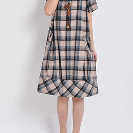 dress - Heart love/ babydoll cotton dress