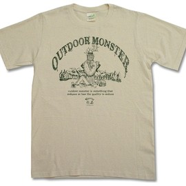 CAMP MANIA PRODUCTS - OUTDOOR MONSTER Tee