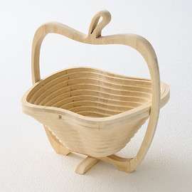 Apple bamboo basket