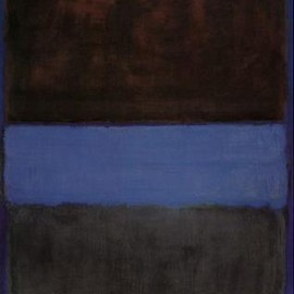 Mark Rothko - No. 61 (Brown, Blue, Brown on Blue), 1953