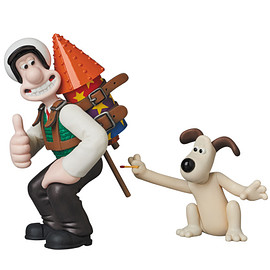 MEDICOM TOY - UDF Aardman Animations #2 WALLACE & GROMIT