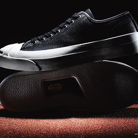 CONVERSE - CONVERSE ADDICT : JACK PURCELL LEATHER BLACK
