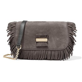 See by Chloé - Rosita small fringed suede and textured-leather shoulder bag