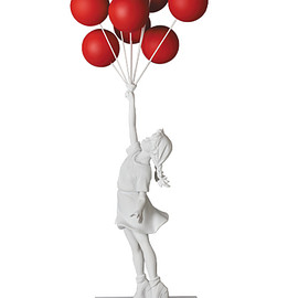 MEDICOM TOY - Flying Balloons Girl(Red Balloons Ver.)