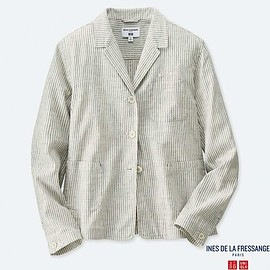 UNIQLO - WOMEN IDLF Linen Cotton Jacket