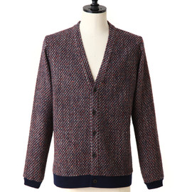 frank leder - COLORFULL WOOL CARDIGAN