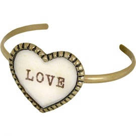 Katie - big heart bangle